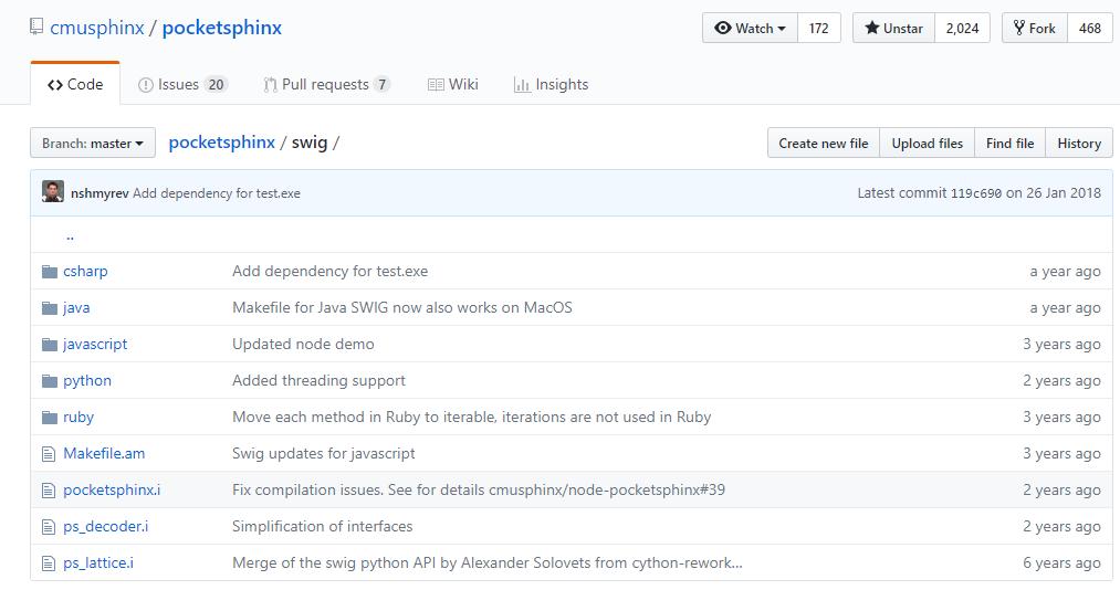 PocketSphinx on Raspberry pi 3 | 并行革命